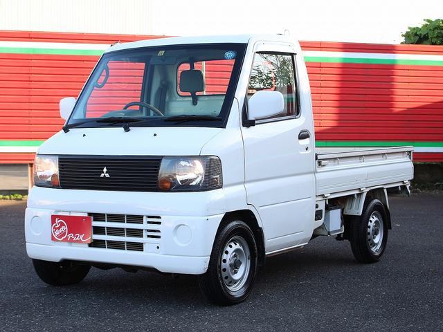 三菱 VX-SE 4WD AC付 5速MT ワンオーナー 走行距離少ない 三方開 作業灯 鍵付サイドボックス