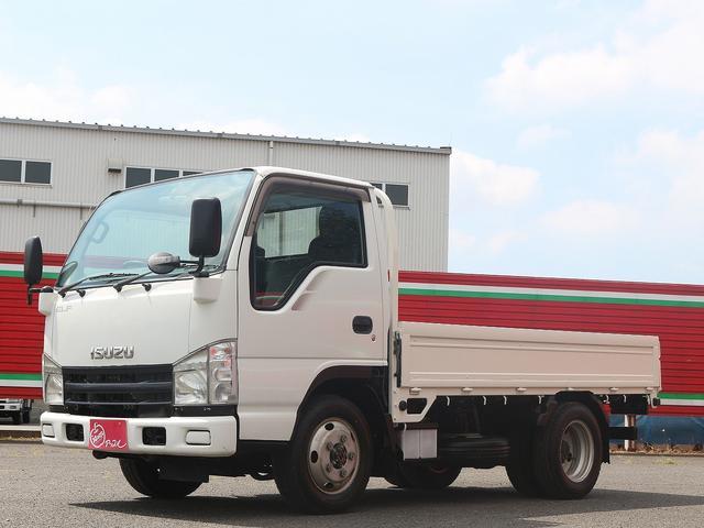 いすゞ フルフラットロー 1.5t積み 軽油 4WD 5速MT&3ペダル 三方開チェーン付 ETC付 後輪Wタイヤ EG型式:4JJ1 最大積載量:1500kg 車両総重量:4015kg 荷台寸(約):306.150.38