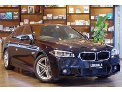 BMW528iMスポーツ 1オナ黒革ACC HDDナビフルセグ
