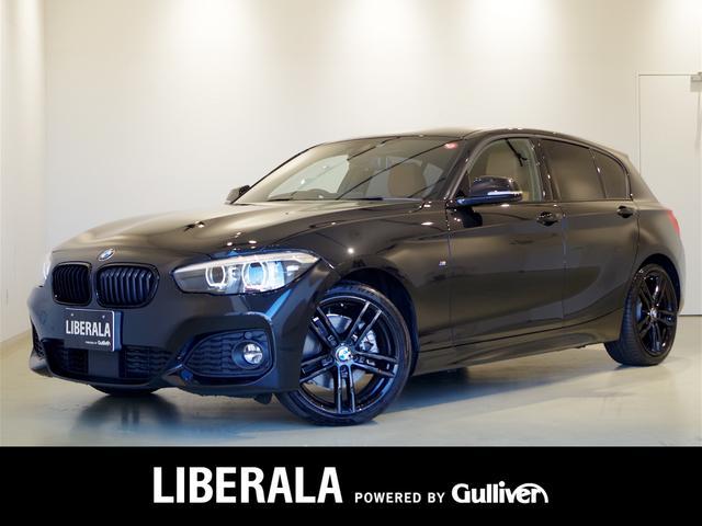 BMW 118d MスポーツEDシャドー 茶革シート ACC LED