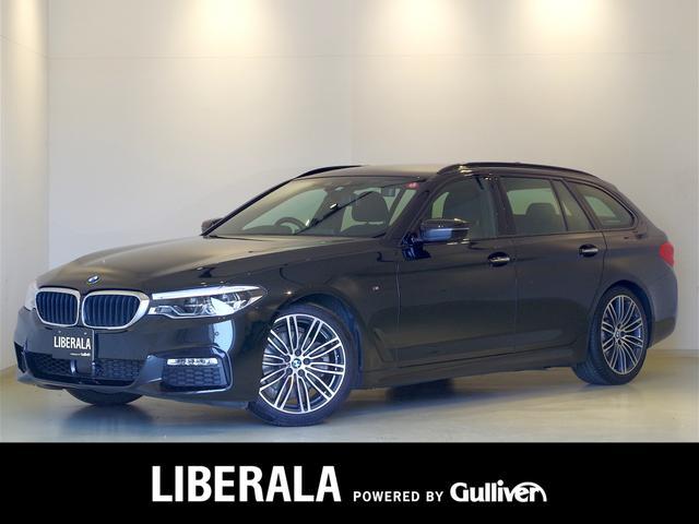 BMW 5シリーズ 523dツーリング Mスポーツ イノベーションPKG ヘッドアップディスプレイ ジェスチャーコントロール リモートパーキング ACC 衝突軽減B レーンアシスト ワイヤレス充電 アンビエントライト 純正ナビTV 360カメラ