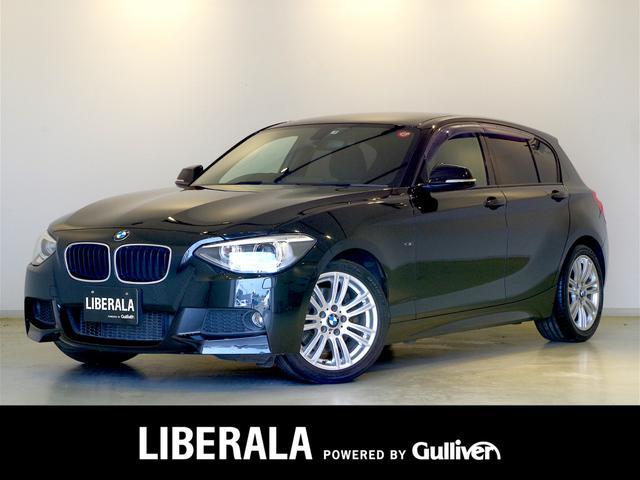BMW 116i Mスポーツ 純正iDriveナビBカメラ バイキセノン ミラーETC  純正17AW オートライト アイドリングストップ