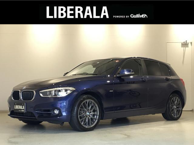 BMW 118d スポーツ 純HDDナビ Bカメラ リアセンサー 17インチAW コンフォートアクセス  LEDヘッドライト クルーズコントロール レーンアシスト インテリジェントセーフティ アイドリングストップ ETC