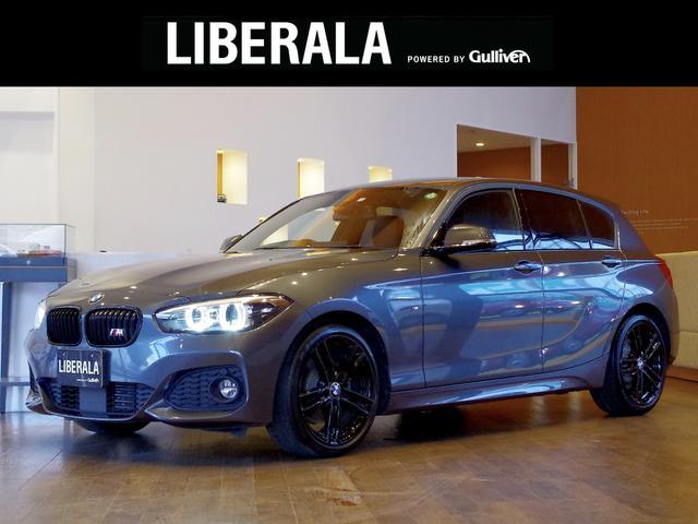 BMW 1シリーズ 118d Mスポーツ エディションシャドー ACC 社外フルセグ 純HDDナビ Bカメラ 黒革シート シートヒーター D/N席パワー シート インテリジェントセーフティ 前後センサー コンフォートアクセス 純18インチAW LEDヘッドライト