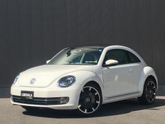 VW ザ・ビートルデザインレザーパッケージ ベージュ革シート サンルーフ