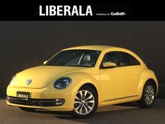 VW ザ・ビートルデザインレザーパッケージ クルコン 前席シートH 黒革