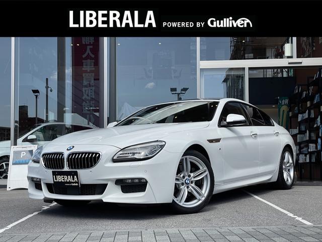 BMW 6シリーズ 640iグランクーペ Mスポーツ サンルーフ 黒レザーシート LEDライト ヘッドアップディスプレイ シートヒーター ACC インテリジェントセーフティ