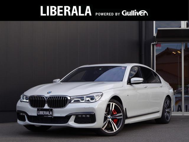 BMW 7シリーズ 750Li Mスポーツ リアコンフォートPKGプラス スカイラウンジパノラマガラスルーフ ヒートコンフォートPKG リアマッサージ Mスポーツブレーキ Bowers&Wilkinsサウンド LEDレーザーライト リアエンター