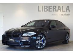 BMWM5 右H 黒革ACシート HUD 20incAW