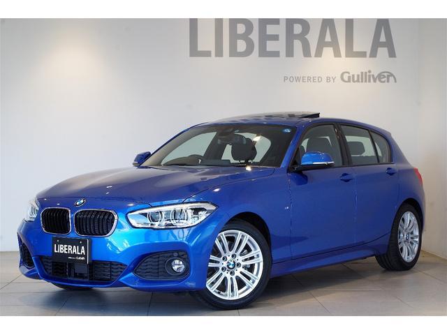 BMW 118iMスポーツ サンルーフ ACC パーキングサポートP