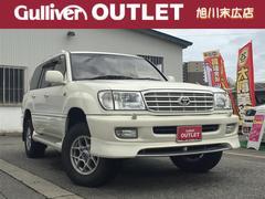 ランドクルーザー100VX−LTD Gセレ 4WD 本革シート SR 純正ナビ