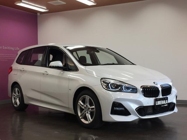 BMW 2シリーズ 218d xDriveグランツアラー Mスポーツ ドライビングアシスト/パーキングサポートpkg/インテリジェントセーフティ