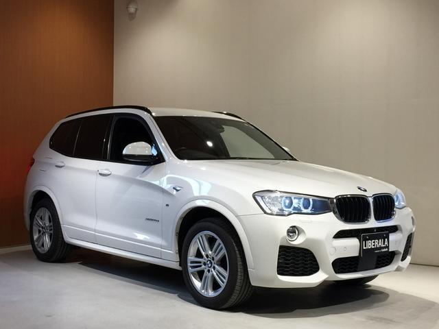 BMW xDrive 20d Mスポーツ ACC ハーフレザーシート
