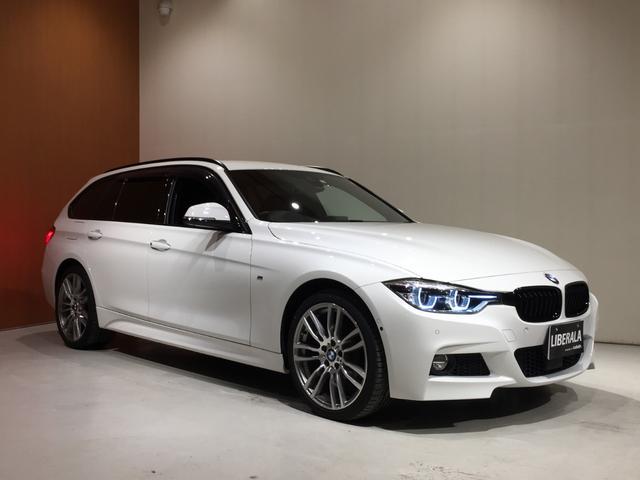 BMW 3シリーズ 320i xDriveツーリング Mスポーツ ACC 黒革シート ヘッドアップディスプレイ パーキングサポートPKG OP19inchiAW 360°カメラ 電動リアゲート