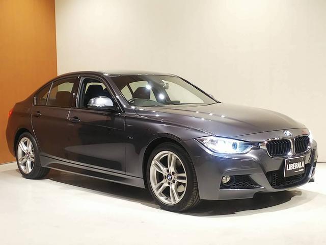 BMW 320i xDrive Mスポーツ コンフォートアクセス パワーシート バックカメラ リアPDC 純正HDDナビ(DVD/Bt/AUX/USB) アイドリングストップ オートライト オートワイパー 純正フロアマット 純正18インチAW