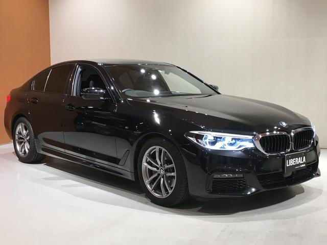 BMW 5シリーズ 523d xDrive Mスピリット アドバンスPKG ハイラインPKG Pアシスト+ ドライビングアシスト+ オートトランクOP 全席シートヒーター 純正HDDナビ ダコタレザー コンフォートアクセス OPウッドトリム ワンオーナー