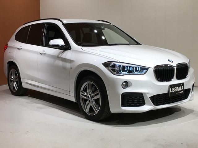 BMW X1 xDrive 18d Mスポーツハイラインパッケージ アドバンスドアクティブセーフティPKG コンフォートPKG ACC ヘッドアップディスプレイ パーキングアシスト ダコタレザーシート シートヒーター パワーシート ワンオーナー 電動リアゲート ETC