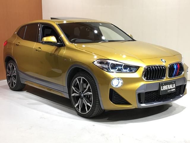 BMW X2 xDrive 20i MスポーツX セレクトPKG アドバンスドアクティブセーフティPKG 電動パノラマガラスサンルーフ HiFiスピーカー ACC ヘッドアップディスプレイ 電動フロントシート OP20インチアロイホイール