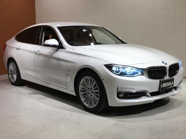 BMW 320d xDriveグランツーリスモラグジュアリー ドライビングアシスト トップビューカメラ ACC シートヒーター/パワーシート コニャックダコタレザー コンフォートアクセス パワーバックドア PDC ワンオーナー アダプティブLED 純正HDDナビ