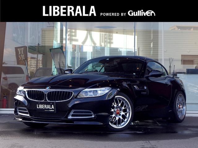 BMW Z4 sDrive20i ハイラインパッケージ ☆レザーシート☆前席パワーシート/シートヒーター☆純正HDDナビ(CD/DVD/Bluetooth)☆バックカメラ☆BBS18インチアルミホイール☆革巻きステアリング☆パドルシフト☆ドライブレコーダー