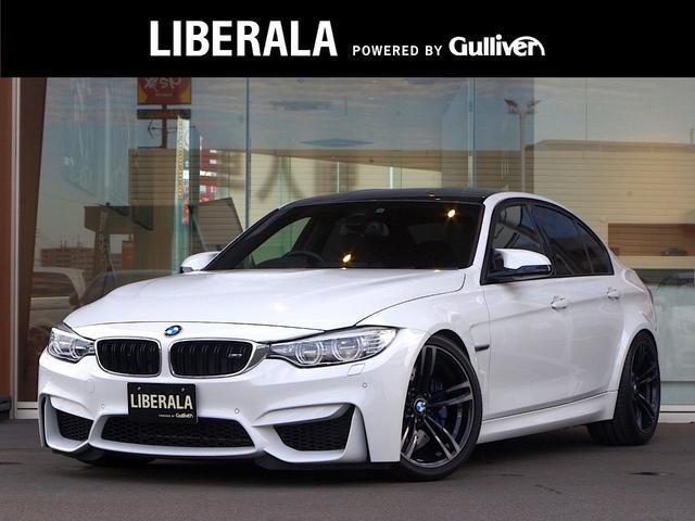BMW M3 ・純正HDDナビ・DVD再生可/AUX/USB・コンフォートアクセス・クルーズコントロール・バックカメラ・地デジ・ETC・黒革シート・前席PWシート・シートヒーター・純正19AW・LEDヘッドライト・