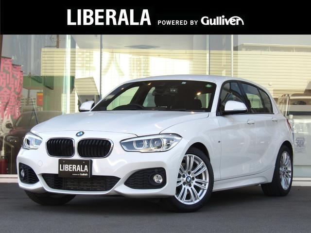 BMW 118i Mスポーツ ・純正HDDナビ/CD/DVD/USB/BT/AUX・バックカメラ・クルーズコントロール・オートライト・純正17AW・ETC・コーナーセンサー・フロアマット・キーレス・アイドリングストップ・取扱説明書
