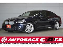 BMWActiveHybrid5Mスポ ACC 黒革 SR19in