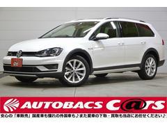 VW ゴルフオールトラックTSI 4モーション アップPKG 本革 ACC SR 禁煙