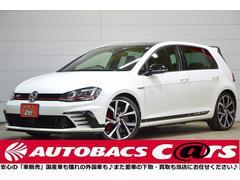 VW ゴルフGTIクラブスポーツトラックed ACC 純正レカロ 純正ナビ