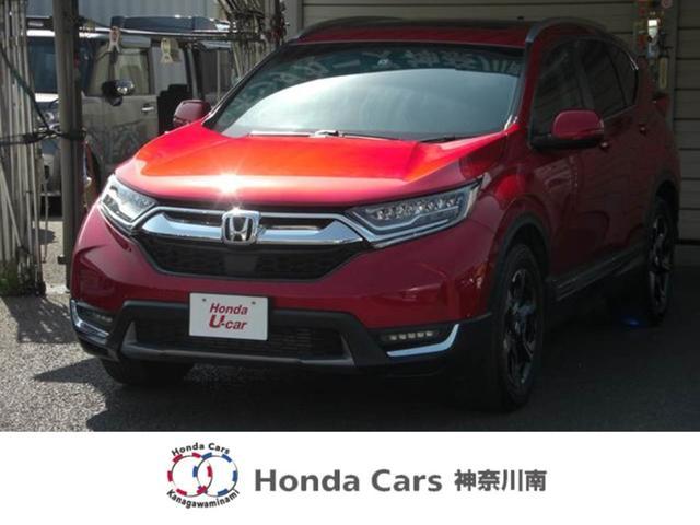 ホンダ CR-V EX・マスターピースHセンシング元試乗車本革シートサンルーフ