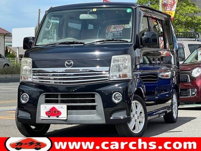 マツダ スクラムワゴン PZターボ スペシャルパッケージ 4WD/両側パワスラ/ディスプレイオーディオ/ETC/HID/禁煙車/1年保証付き