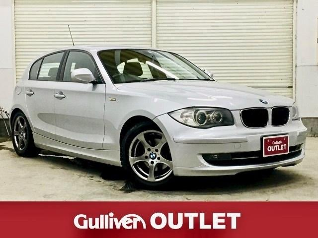 BMW 116i 社外SDナビ ETC HIDヘッドライト 純正16インチAW キーレスリモコン プッシュスタート 革巻きステアリング ワンセグ