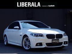 BMW523d Mスポーツ 黒革シート ACC