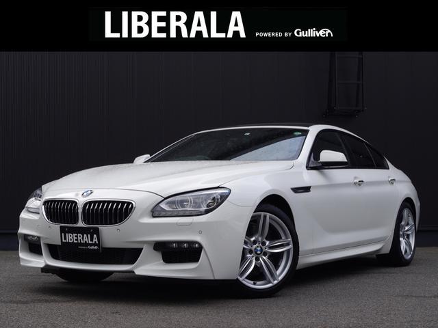 BMW 640iグランクーペ サンルーフ レザーシート/シートヒーター/パワーシート HDDナビ/フルセグTV/BlueTooth バックカメラ コンフォートアクセス ETC オートライト LED 純正19インチAW