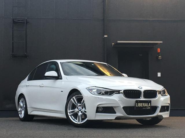 BMW 320i スポーツ コンフォートアクセス パワーシート オートライト/HID パドルシフト 純正18インチAW HDDナビ/DVD/CD/USB/AUX/BT Bカメラ ミラー内蔵型ETC