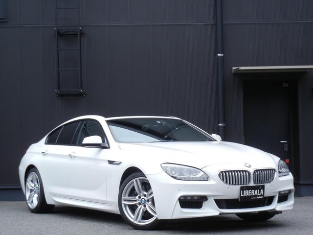 BMW 6シリーズ 650iグランクーペ Mスポーツパッケージ サンルーフ 黒革/ヒーター/Pシート クルコン HUD ETC HDDナビ/DVD/CD/USB/BT/TV Bカメラ コンフォートA 純正AW オートライト パドルシフト