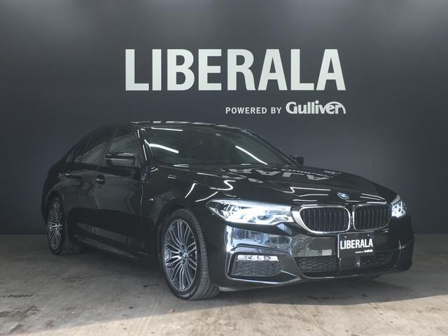 BMW 523d Mスポーツ・衝突軽減ブレーキ・HUD・LEDヘッド
