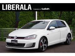 VW ゴルフGTIベースグレード 純正ナビ バックカメラ コーナーセンサー
