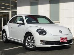 VW ザ・ビートルデザイン ワンオーナー 純正ナビ クルーズコントロール