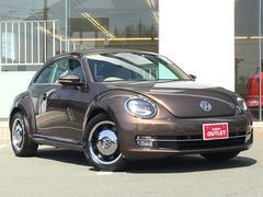 VW ザ・ビートルチョコ ワンオーナー  ナビ  Bカメ  ETC HID