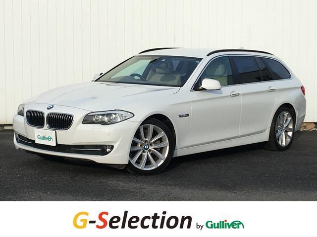 BMW 5シリーズ 523iツーリング ハイラインパッケージ ハイラインパッケージ ベージュレザー 純正HDDナビ フルセグTV バックカメラ ETC シートヒーター パワーシート OP19インチAW HIDヘッドライト クルーズコントロール