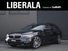 BMW523dツーリングMスポーツ 黒革 HUD ACC LED