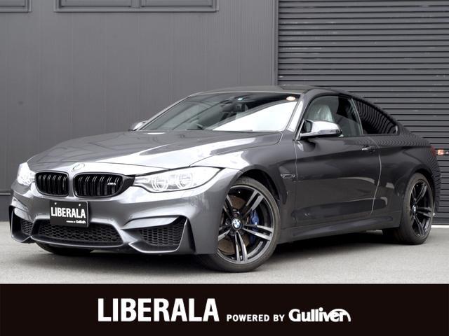 BMW M4クーペ ホワイト革 HUD カーボンルーフ 19AW