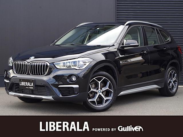 BMW X1 xDrive 18d xライン ハイラインパッケージ アドバンスドアクティブセーフティPKG ハイラインPKG ACC HUD オイスターレザー パワーシート シートヒーター コンフォートアクセス iDriveナビ バックカメラ LEDライト ETC