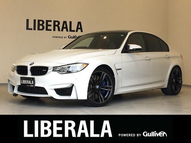 BMW M3 アダプティブLED 純正OP19AW 赤革シート シートヒーター 純正HDDナビ フルセグTV  Bカメラ パワーシート 衝突軽減B レーンDW コンフォートアクセス PDC GPSレーダー ドラレコ