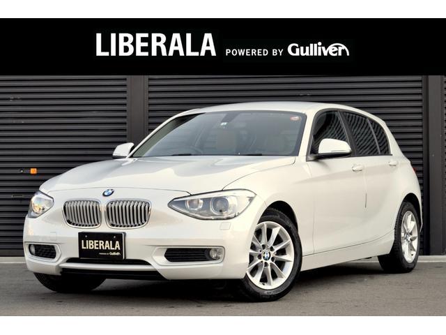 BMW 116i スタイル 純正HDDナビ O/Pカラー Hレザー