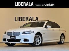 BMWアクティブハイブリッド5 Mスポーツ SR ベージュ革 ナビ