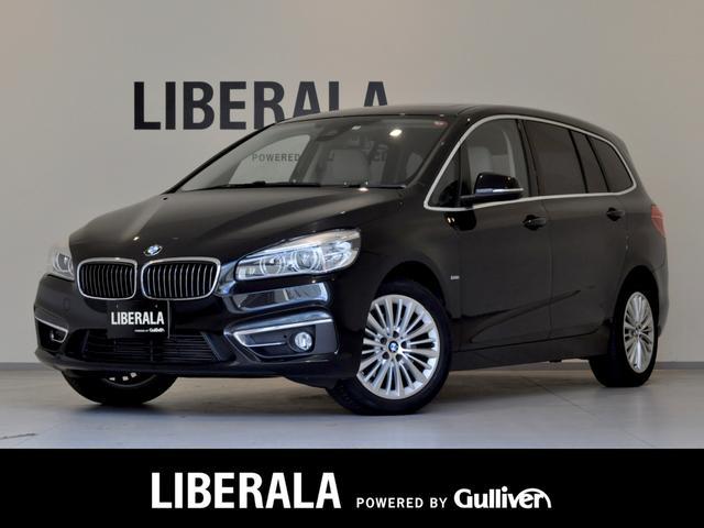 BMW 2シリーズ 218dグランツアラー ラグジュアリー パノラマルーフ LEDヘッドライト インテリジェントセーフティ ベージュレザー シートヒーター パワーシート ミラー内蔵ETC ドエアレコ コンフォートアクセス スマートキー リアPDC