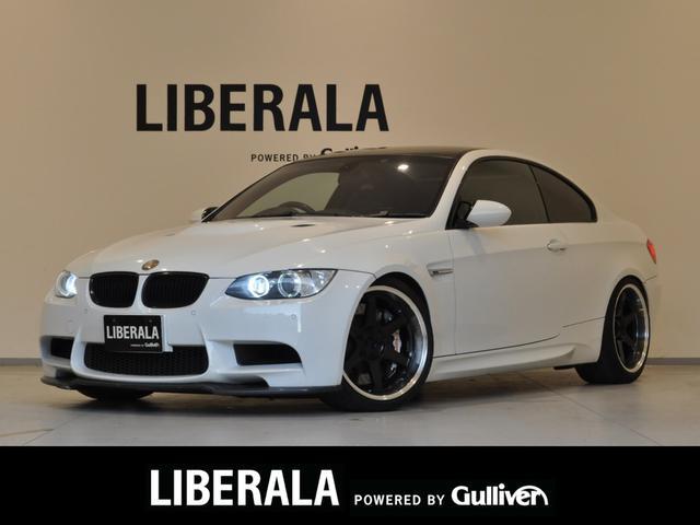 BMW M3 M3クーペ RECAROシート/純正有り bremboキャリパー RAYS19インチAW/純正有り GARBINOフロントスポイラー 3D Designリアスポイラー ACRAPOVICエキゾースト/純正有