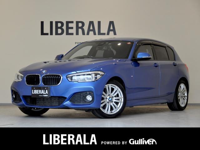 BMW 120i Mスポーツ インテリセーフ iDriveナビ CD/DVD/AUX/HDD/BT Bカメラ パークディスタンスコントロール ダイナミックスタビリティコントロール クルコント ミラービルトインETC LEDライト